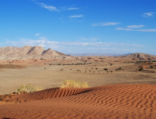 Namibia – the land of wide open spaces
