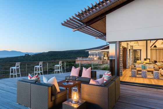 Grootbos Forest Lodge Main Deck
